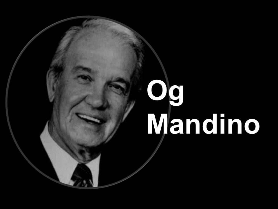 """Og Mandino Biografía-Autor del libro """"El vendedor más"""