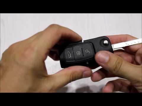 Ford Fiesta выкидной ключ (разборка, привязка)
