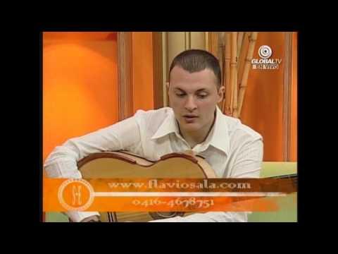 "Entrevista ""Sin Edicion"" TV Venezolana - Laura Salazar, Maracaibo 2009 - Flavio Sala"