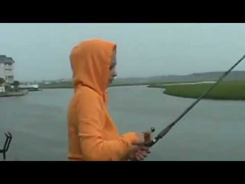 Thumbnail: New! Huge Shark Attacks Fish from a girls fishing line,Myrtle Beach .