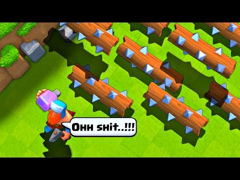 TOP ULTIMATE EPIC MOMENTS | Clash Royale Glitches , Fails | CR Funny Montage #2