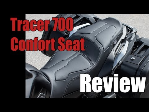 Yamaha Tracer 700 Confort Seat Review