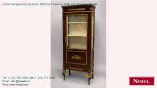 French Antique Display Cabinet/vitrine Empire Cabinets