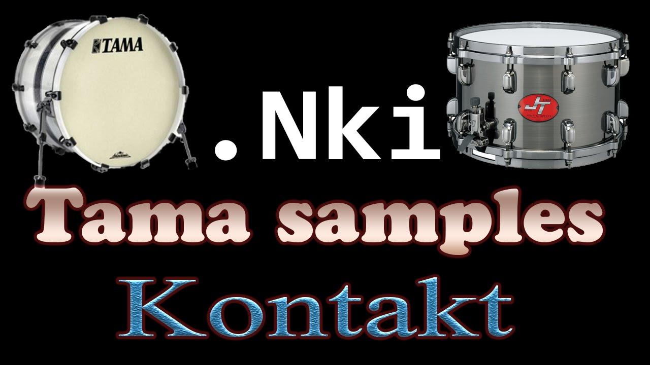 Kontakt Metal Drum Samples Download (TAMA Kick + Snare Nki)