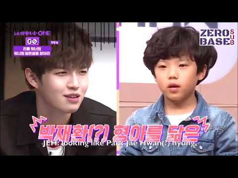 [ENGSUB] Savage Kid Shocked Wanna One Members | Little Wanna One Casting