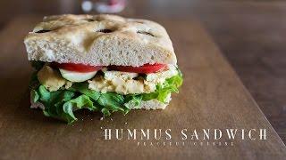 フムスサンドイッチ|Peaceful Cuisineさんのレシピ書き起こし