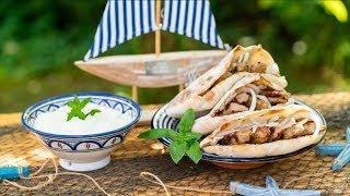 Lahůdkové čevapčiči a Balkánský domácí chléb na gril