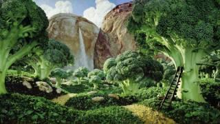 видео Carl Warner и его съедобные пейзажи