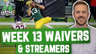 Fantasy Football 2020 Week 13 Waivers Full Stream Ahead Wanna Play a Game Ep 994