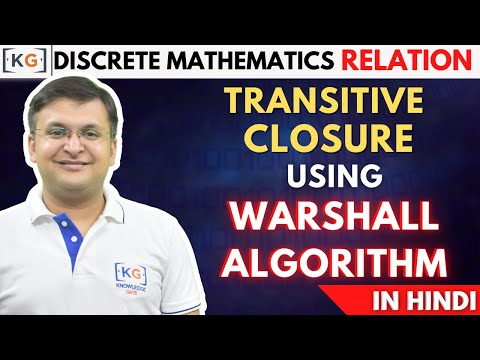 Transitive Relations| Warshall