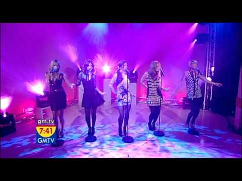 Girls Aloud - The Promise First Performance [GMTV - 27.10.2008]