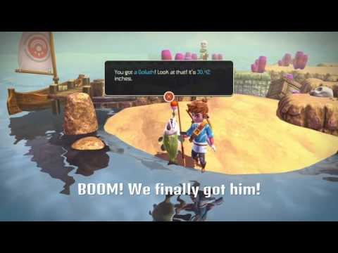 Oceanhorn Fishing Guide Locations
