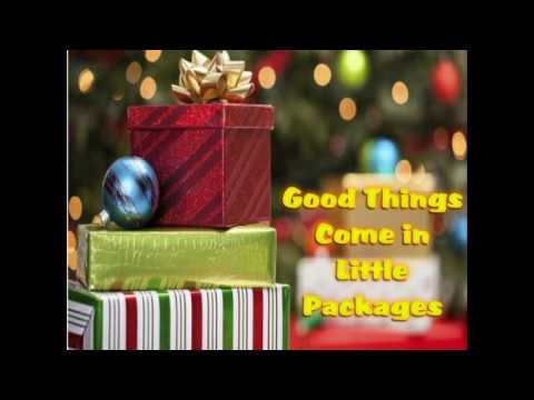 good things come in little packages youtube