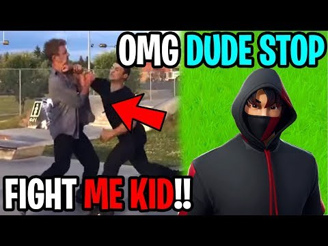 My Girlfriends Dad Tried Fighting Me...(Fortnite)
