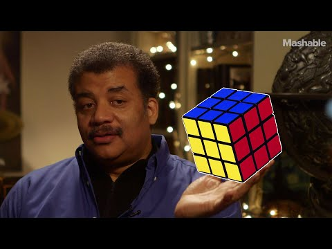 Neil deGrasse Tyson on solving the Rubik