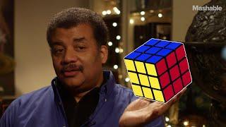 Neil deGrasse Tyson on solving the Rubik's Cube