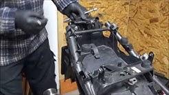 Yamaha Fazer FZS 1000 RN14 - Teil 3 | Heckverkleidung abbauen