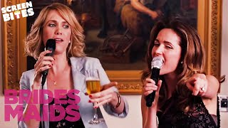 The Engagement Party Toast-Off | Bridesmaids | SceneScreen