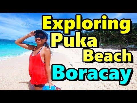Exploring Puka Beach Boracay Island Philippines