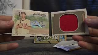 Scotty's 2018 Allen & GInter & Fast Break Optic NBA 2 Box Break