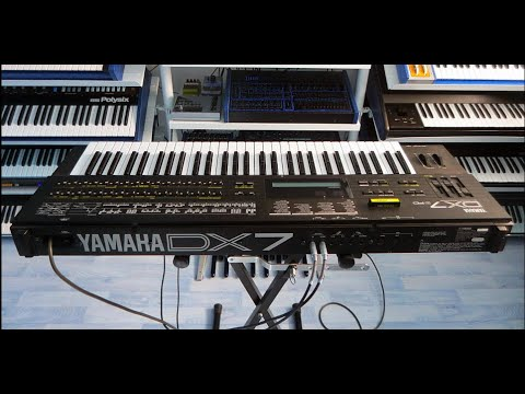 Download YAMAHA DX7 II FD with E! board FM Synthesizer (1987) RetroSound Soundscapes - Sound Demo