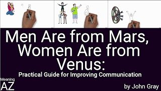 Video Men Are from Mars, Women Are from Venus by John Gray ; Animated Book Summary download MP3, 3GP, MP4, WEBM, AVI, FLV Desember 2017
