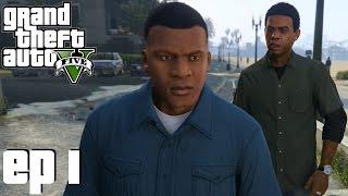 Grand Theft Auto 5 Parte 1 - Prólogo, Franklin e Lamar (PC Gameplay em Português) - Sem Comentários
