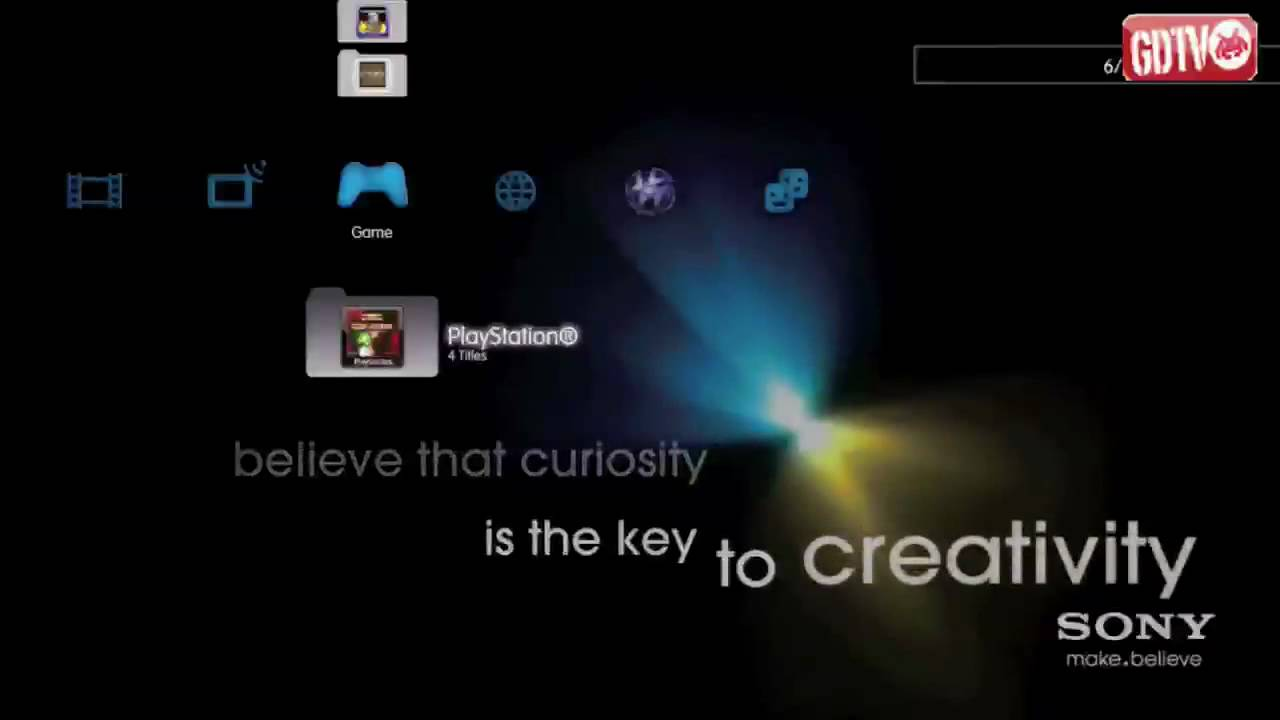Make Believe Dynamic Theme PS3 - YouTube