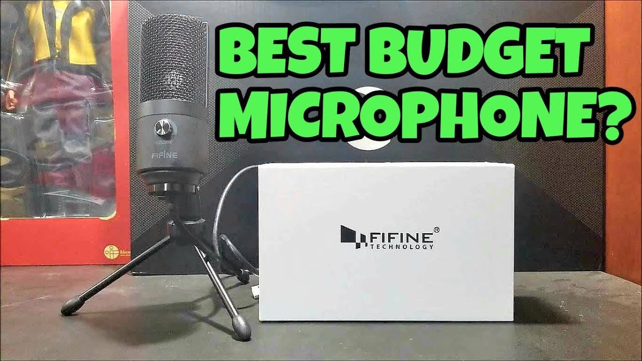 30 k669b usb microphone gaming test review fifine technology youtube. Black Bedroom Furniture Sets. Home Design Ideas