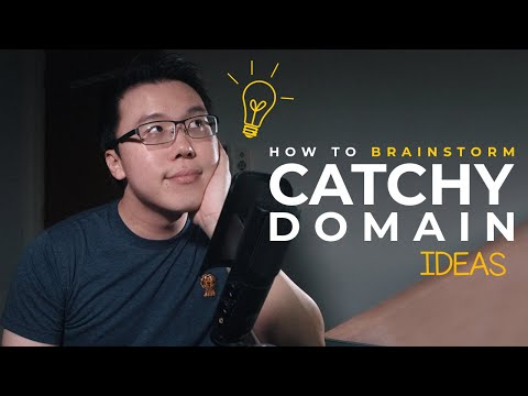 Step-by-step Guide to Brainstorm Catchy Domain Name Ideas