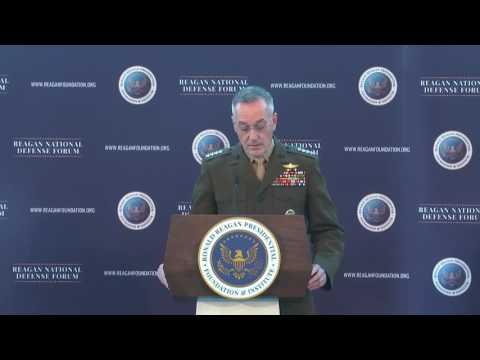 Dunford Addresses Reagan National Defense Forum