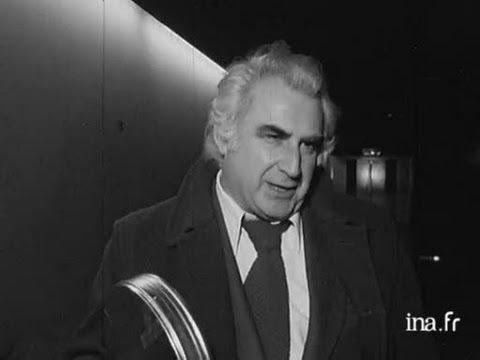 """Interview de Jacques Rouffio et Michel Piccoli à propos de """"7 morts sur ordonnance"""""""