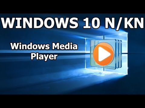 Cómo Instalar Windows Media Player Para Windows 10 N O KN