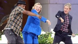 HILLARY CLINTON DANCE DEBATE MOVES_On ELLEN SHOW Goes VIRAL & KILLS The INTERNET 14 OCT_{VIDEO}_!