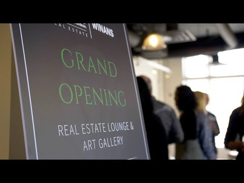 Better Homes and Gardens Real Estate Winans Art Gallery and Real Estate Lounge