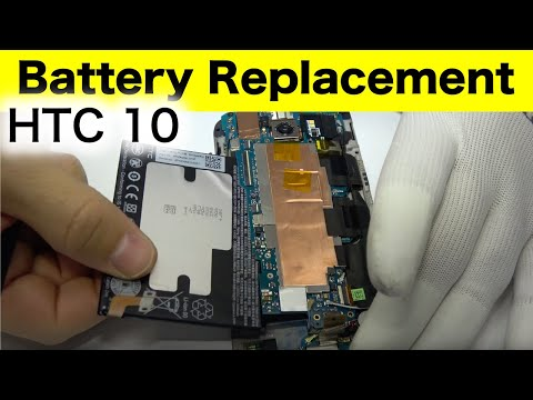 HTC 10 Battery Replacement