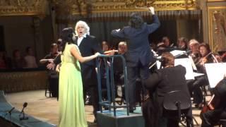 Anna Netrebko Vladimir Samsonov Duet Hanna Und Danilo Die Lustige Witwe 20.07.12