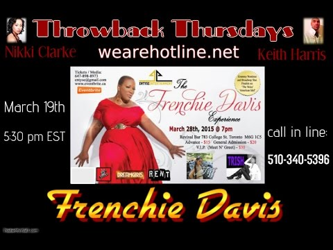 Throwback Thursdays talks with Frenchie Davis