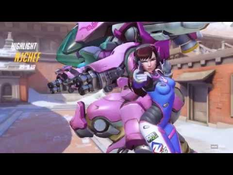 [Overwatch] Death Comes (Highlight) - YouTube