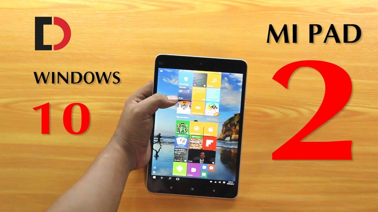 Trên tay Xiaomi Mi Pad 2 64GB Phiên bản Windows 10