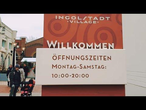 BARANG BRANDED MURAH DI INGOLSTADT VILLAGE   CITY - GALERIE  AUGSBURG   BAVARIA   GERMANY   VLOG