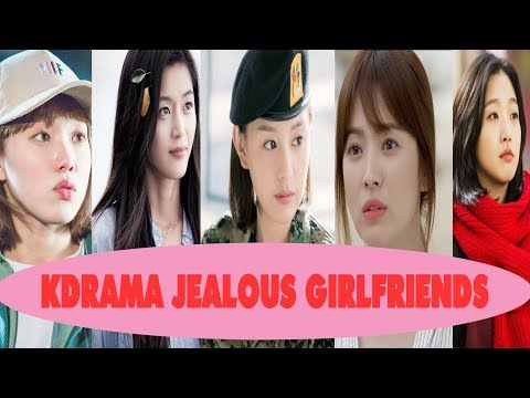 kdrama best jealous girlfriends moment