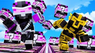 ¡CARRERA DE LUCKY BLOCKS DE WHITEZUNDER EN MINECRAFT! | MINECRAFT TROLL