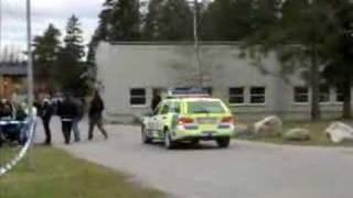 Swedish Police Cruiser
