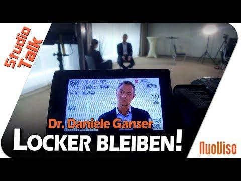 Locker bleiben! - Dr. Daniele Ganser im NuoViso Talk