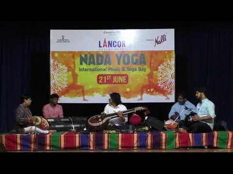 Nada Yoga | International Music & Yoga Day 2018 | BVB | Carnatic Music Concerts