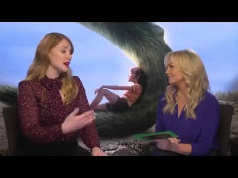 Emma Bunton Interviews Bryce Dallas Howard for Disney - YouTube