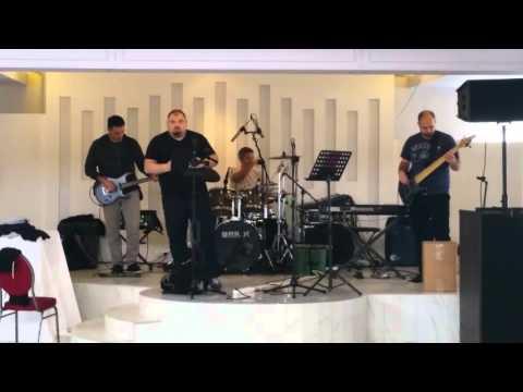 Kemper profiling amplifier LIVE on stage, The Amp factory Cornfeld Car profile, soundcheck jam