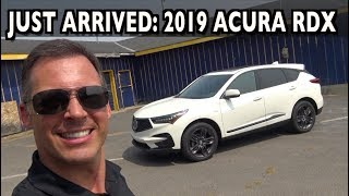 Just Arrived: 2019 Acura RDX SH-AWD A-Spec on Everyman Driver