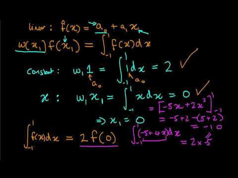 An introduction to numerical integration through Gaussian quadrature